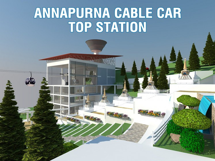 Annapurna Cable Car Top Station